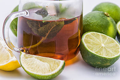 Photograph - Tea And Lime by Patricia Hofmeester