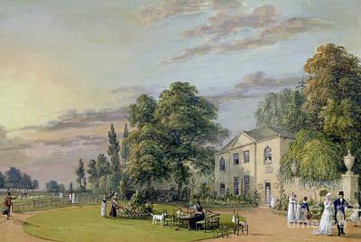 High Society Painting - Tea At Englefield Green by Paul Sandby