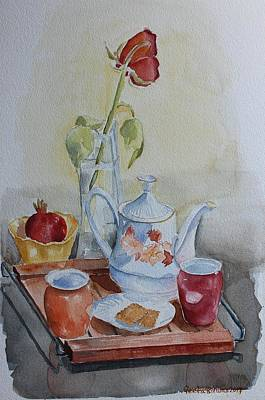 Painting - Tea Break by Geeta Biswas