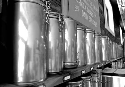 Tea Canisters Photograph - Tea Canisters  by Mark Holden