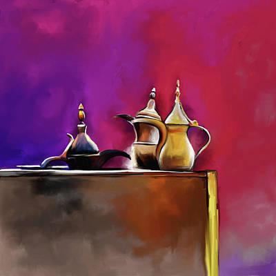 Tea Culture 673 1 Art Print