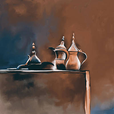 Painting - Tea Culture 673 3 by Mawra Tahreem