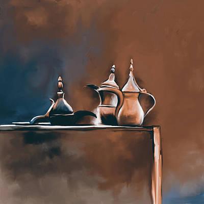 Tea Culture 673 3 Art Print