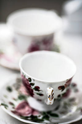 Photograph - Tea Cups #1 by Rebecca Cozart