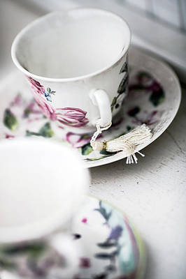 Photograph - Tea Cups #4 by Rebecca Cozart