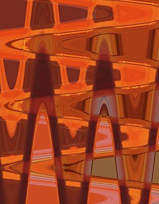 Digital Art - Tea Dancers I by James Granberry