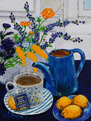 Painting - Tea For Thee by Rich Travis
