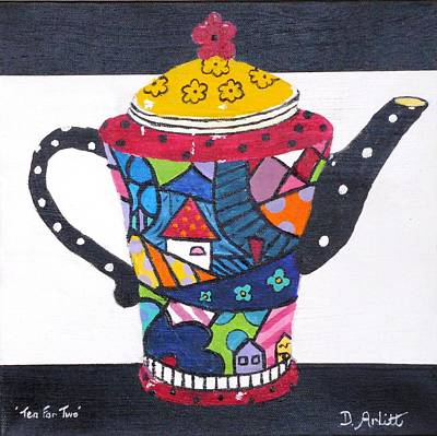 Painting - Tea For Two by Diane Arlitt