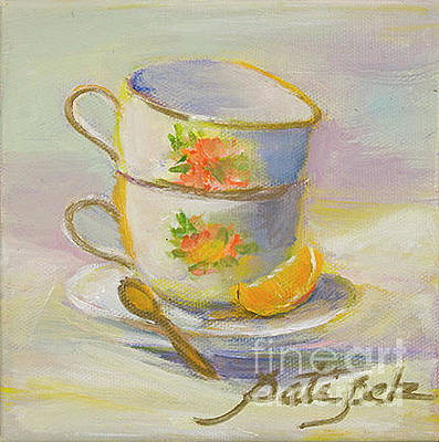 Painting - Tea For Two by Pati Pelz