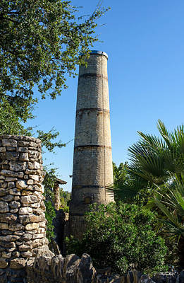 Photograph - Tea Garden Smokestack by Shanna Hyatt