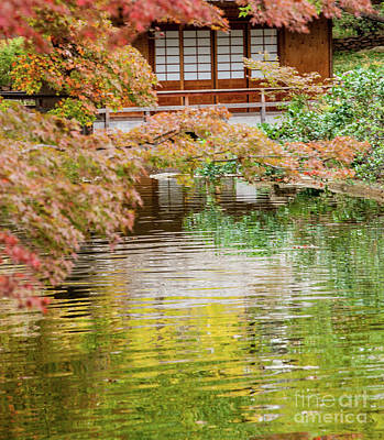 Photograph - Tea House by Iris Greenwell