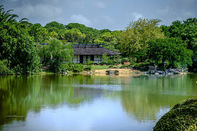 Photograph - Tea House by Louis Ferreira