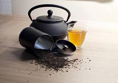 Food And Beverage Digital Art - Tea by Maye Loeser