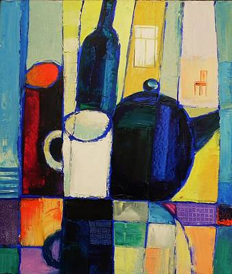 Painting - Tea by Mikhail Zarovny
