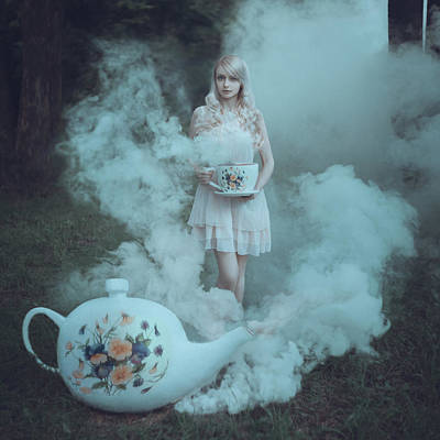 Photograph - Tea Party by Anya Anti