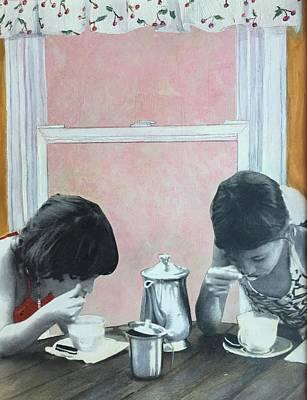 Tea Party Mixed Media - Tea Party by Leah Tomaino