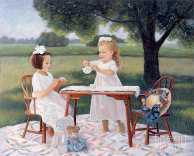Pastel - Tea Party by Nancy Lee Moran