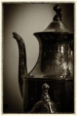 Tea Pot Art Print by Karen Hanley Colbert