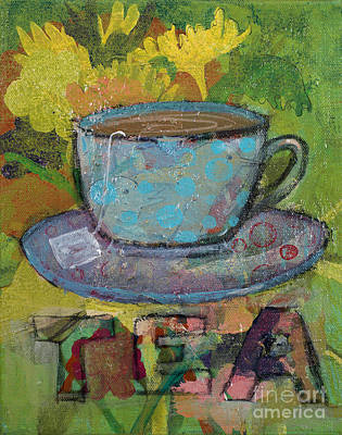 Painting - Tea by Robin Maria Pedrero