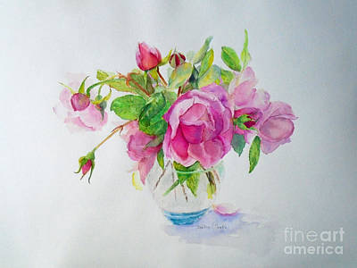 Painting - Tea Rose by Beatrice Cloake