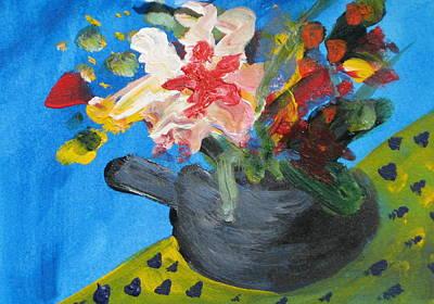 Tea Series C Art Print by Rebecca Merola