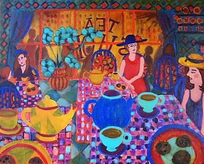 Painting - Tea Shop by Fran Steinmark