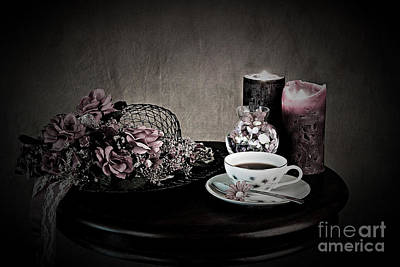 Photograph - Tea Time 2nd Rendition by Sherry Hallemeier