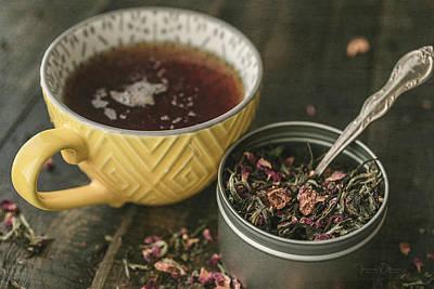 Photograph - Tea Time 8272 by Teresa Wilson