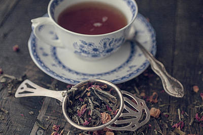 Photograph - Tea Time 8286 by Teresa Wilson