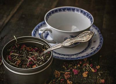 Photograph - Tea Time 8529 by Teresa Wilson