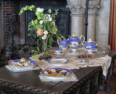 Photograph - Tea Time At The Biltmore Estate by Dave Mills