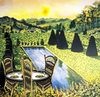 Painting - Tea Time by Belinda Threeths
