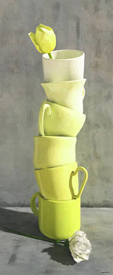 Digital Art - Tea Time by Cynthia Decker