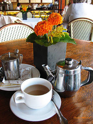 Tea For One Photograph - Tea Time by Doreen Whitelock