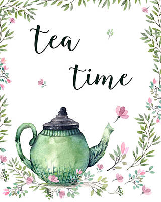 Photograph - Tea Time by Ivelina G