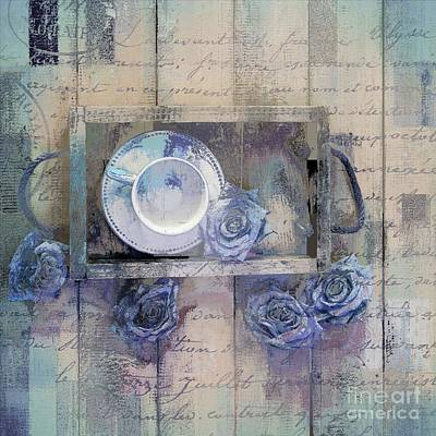 Digital Art - Tea Time - J043097070-add222 by Variance Collections