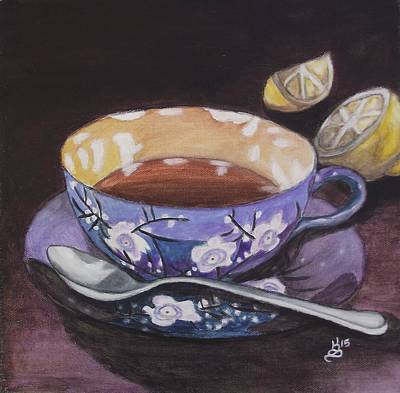 Painting - Tea Time by Kim Selig