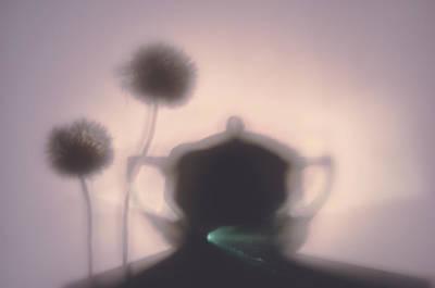 Tableware Digital Art - Tea Time by larisa Fedotova