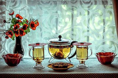 Photograph - Tea Time by Lilia D