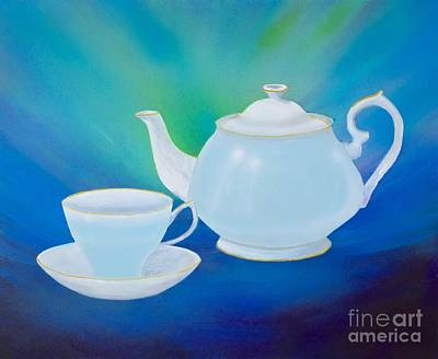 Painting - Tea Time by Mary Scott