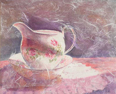 Painting - Tea Time by Miki  Sion