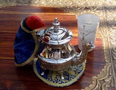 Tea Time Print by Valia Bradshaw