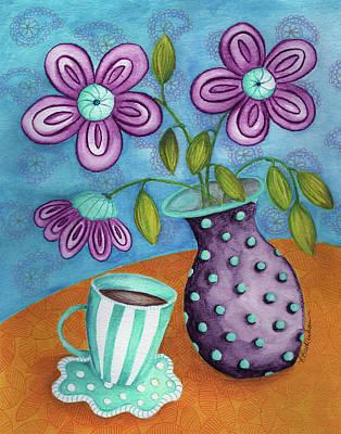 Tea With Marianne Art Print