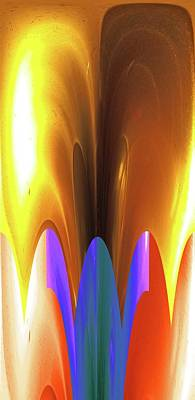 Digital Art - Tea Wood Carnaval by James Granberry