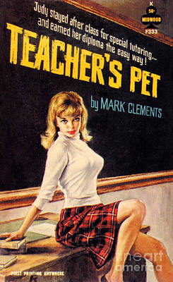 Painting - Teacher's Pet by Paul Rader