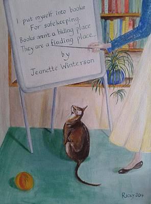 Painting - Teacher's Pet by Veronica Rickard
