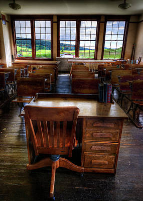 Photograph - Teacher's Point Of View by Doug Matthews