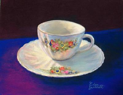 Pastel - Teacup by Edna Garrett