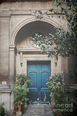 Photograph - Teal Door At Cathedral by Ivy Ho