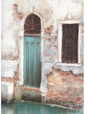 Painting - Teal Door by Susan Jenkins